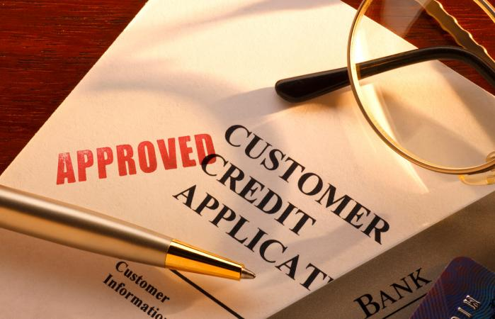 Approved credit application