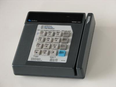Image of a credit card machine