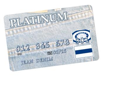 The platinum credit card.