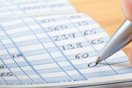 Debit card register