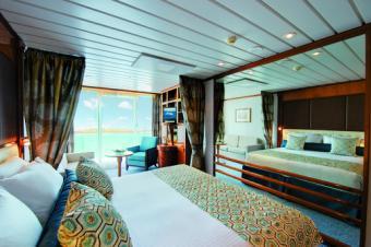 Paul Gaugin Cruises B Veranda Stateroom