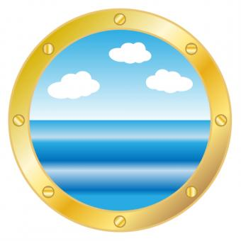 Cruise Ship Clipart 1 porthole