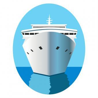 Cruise Ship Clipart 4