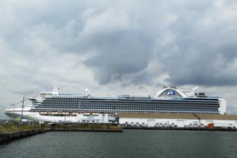 Princess Cruise at Brooklyn Terminal