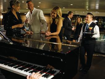 Silversea Cruises luxurious decor