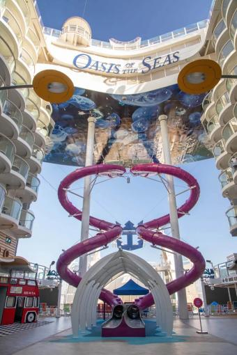 Oasis of the Seas Slides