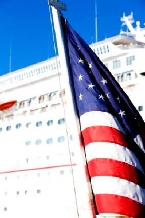 Flag and Ship