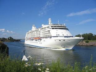 Cruise ship groundings are rare.