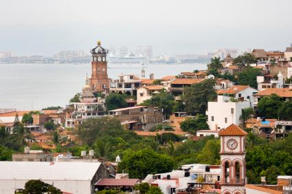 The Bay of Puerto Vallarta