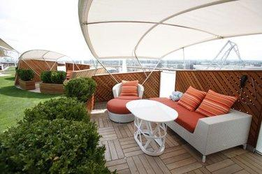 The Alcoves onboard Celebrity Silhouette