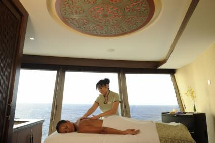 Disney cruise onboard spa treatment