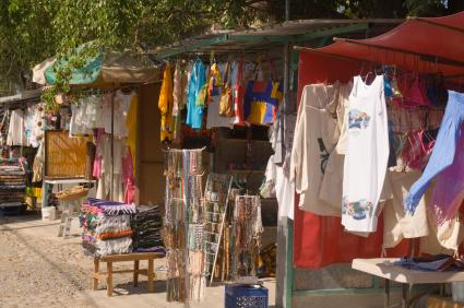 Flea market in Puerto Vallarta