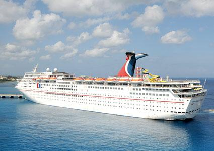 Carnival Fantasy Cruise Ship in Cozumel