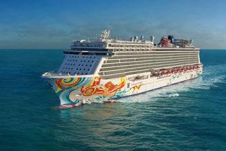 Norwegian Cruise Line Getaway Cruise Ship