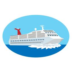 Cruise Ship Clipart 3