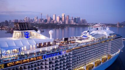 Royal Caribbean International Ovation of the Seas in Australia