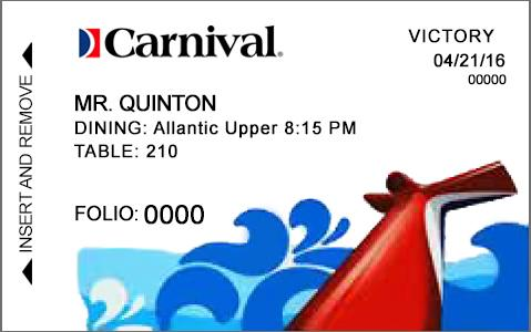 Royal Caribbean ID Card