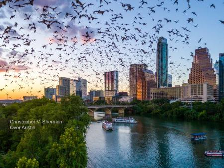 Over Austin by Christopher V. Sherman