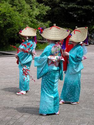 Japanese Street Dance Festivals