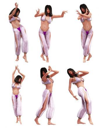 Belly Dance Clip Art