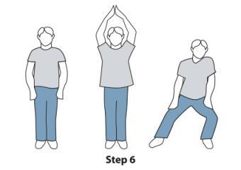 Thriller steps 6