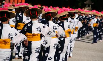 Japanese Folk Dance