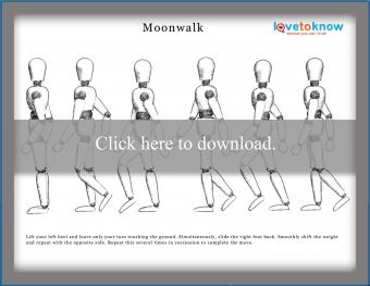 Moonwalk Dance Steps