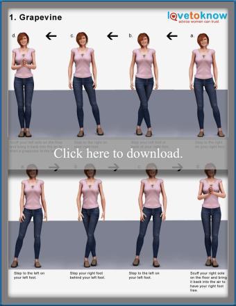 Electric Slide Dance Steps