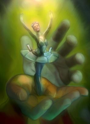 Fairytale dancer