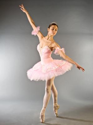 Prima Ballerina en Pointe