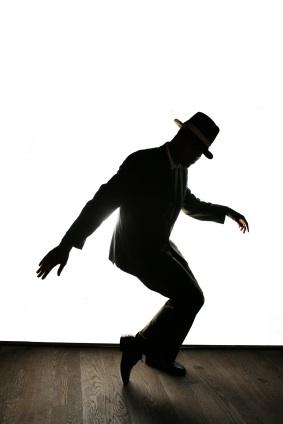 tap dancer silhouette
