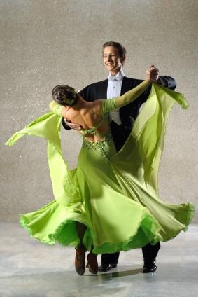waltzing pair