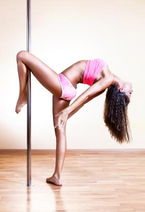A Pole Dancer