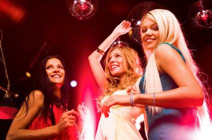 Ladies at the club