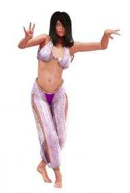 belly dance clip art 1