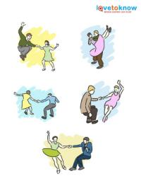 swing dance clip art