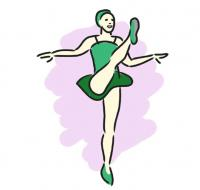 green dance clip art