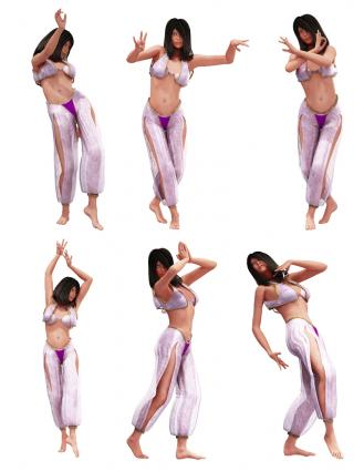 Belly Dance Clip Art