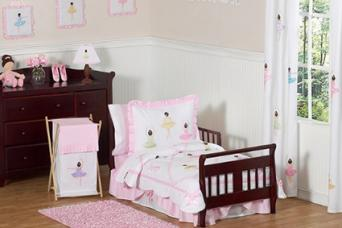 Toddler Ballerina Bedding