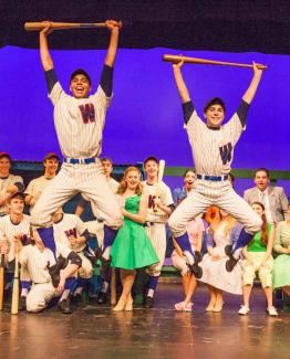 Damn Yankees at Wagner College | Photo by Karen O'Donnell