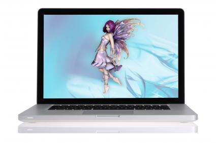 Computer screen desktop dancer
