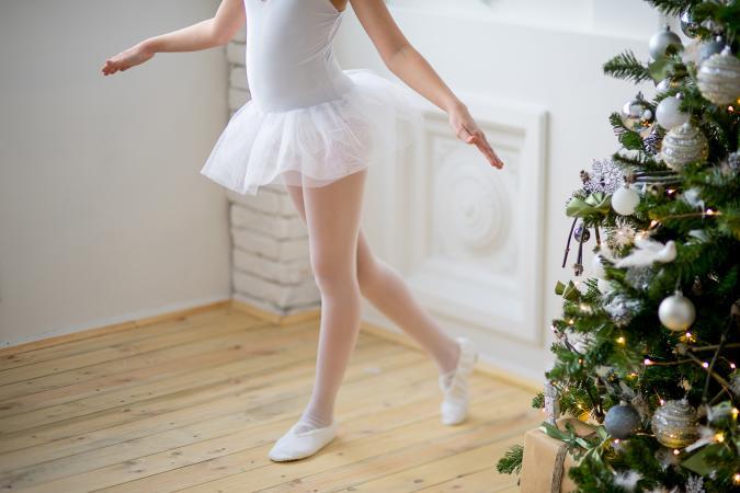 Christmas ballerina
