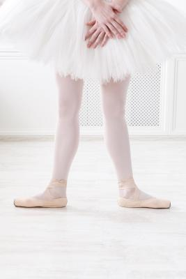 Ballerina in 2nd position