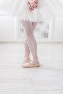 ballerina in 5th position