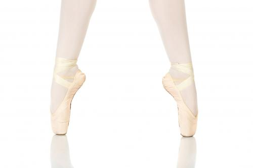 Ballet feet position in echappé