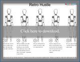 Retro Hustle Dance Steps