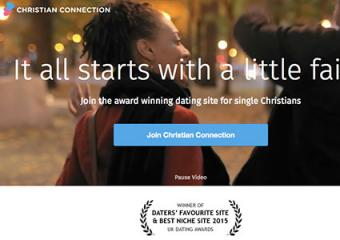 Screenshot of Christian Connection