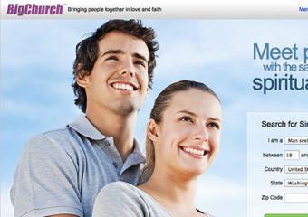 Screenshot of BigChurch.com