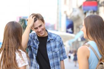 Flirty guy