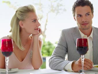 Woman Admiring Man